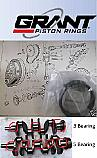 PISTON RINGS SET Std (MG B) (1800cc) (4 Ring) (** GB-GG**) (**From 1964- 71 Only**)
