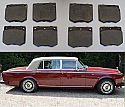 FRONT BRAKE PADS SET (Rolls Royce Silver Spur Spirit) (1980- 89)