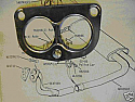 EXHAUST DOWNPIPE GASKET (Rover SD1) (2.3 & 2.6 Only) (** See Ch No.**) (1977- 87)
