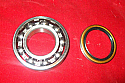 REAR WHEEL HUB BEARING KIT x1 (MG TA TB TC) (1935- 50)