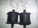 GEARBOX MOUNTS x2 (TVR 2500M) (1972- 77)