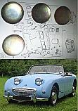 CORE PLUG ENGINE SET (Austin Healey Frogeye Sprite) (1958- 61)