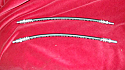 FRONT BRAKE HOSES x2 (Austin A40 Devon & Dorset) (** From 1950- 52 **)
