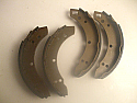 REAR BRAKE SHOES SET (Ford Cortina Mk2) (1300, 1500 & 1600) (1966- 70)