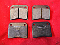 REAR BRAKE PADS SET (Fiat 1600s 1800s 1500 2300) (1961- 69)