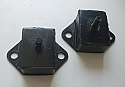 GEARBOX MOUNTS x2  (Morris Oxford) (Ser. 2, 3, 4, 5 & 6) (1954- 71)