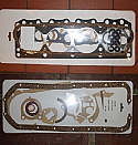 HEAD & SUMP (COMPLETE ENGINE GASKET SET) (Ford Consul Corsair 1500 & GT) (Pre X Flow) (1963- 65)