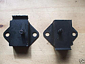GEARBOX MOUNTS x2 (MG C) (1967- 69)