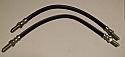 FRONT BRAKE HOSES x2 (MGA Twin Cam & De-Luxe)
