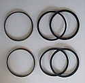 FRONT BRAKE CALIPER REPAIR SEALS KITS x2 (Austin Morris 1100 & 1300) (1968 Onwards)