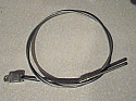 MAIN HANDBRAKE CABLE x1 (Jaguar Mk2 & S Type) (1959- 69)