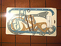 SUMP GASKET ENGINE SET (Singer Gazelle) (Ser.2a- 5) (1500 & 1600) (1958- 65 Only)