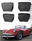 FRONT BRAKE PADS SET (Daimler Dart) (1959- 64)