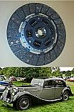CLUTCH PLATE ONLY (Jaguar Mk4) (2.5 Litre Saloon) (1936- 51)