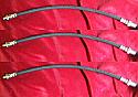 FRONT & REAR BRAKE HOSES x3 (Austin LD LD1 LD01 LD4 LDM20) (1952- 68)