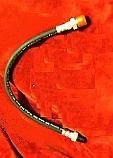 REAR BRAKE HOSE x1 (Morris Oxford MO) (1949- 54)