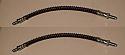 FRONT BRAKE HOSES x2 (Jensen CV8 Mk1, Mk2 & Mk3) (1961- 66)