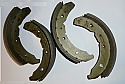 FRONT BRAKE SHOES SET (Ford Zephyr Zodiac Consul Mk2) (1956- 60)