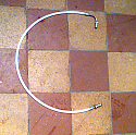 CLUTCH HOSE PIPE x1 (Ford Consul Corsair 1500) (120e) (Oct 62- Sep 65 Only)