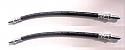 REAR BRAKE HOSES x2 (TVR S Series) (S1, S2, S3 & S4) (1986- 94)