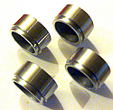 FRONT BRAKE CALIPER PISTONS x4 (** STAINLESS STEEL **) (Rolls Royce Silver Shadow) (1965- 80)