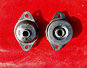 REAR DIFFERENTIAL MOUNTS x2 (Triumph TR4a TR5 TR6) (1965- 76)