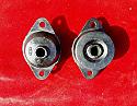 REAR DIFFERENTIAL MOUNTS x2 (Triumph TR4a TR5 TR6) (1965- 76)