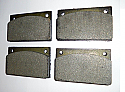 REAR BRAKE PADS SET (Rolls Royce Silver Wraith II) (1976- 80)