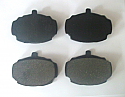FRONT BRAKE PADS SET (Hillman Super Minx) (Ser 2 3 4 5) (1962- 67)