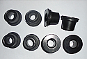 FRONT SUSPENSION LOWER WISHBONE BUSHES KIT x8 (Aston Martin DB4 DB5 DB6) (1958- 70)