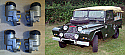 FRONT BRAKE WHEEL CYLINDERS x4 (Austin Gipsy) (** M10 SWB **) (1958- 62 Only)
