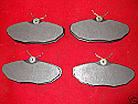 REAR BRAKE PADS SET (Jaguar S-Type) (1999- )