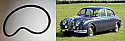 FAN BELT (Jaguar Mk2 & 340)   (3.4 & 3.8 Litre)   (**Not 2.4 or 240 **)  (1959- 69)