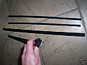 DOOR GLASS SEALS WEATHERSTRIPS (Triumph Herald & Vitesse) (1959- 71)
