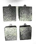 FRONT or REAR BRAKE PADS SET (Alvis TD21 {Ser.2}, TE21 & TF21) (From 1961- 67)