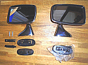 DOOR MIRRORS x2 (MG B) (1962- 80)