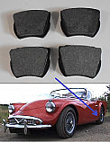 REAR BRAKE PADS SET (Daimler Dart SP250) (1959- 64)