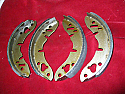 REAR BRAKE SHOES SET (MG Midget) (1964-1980)