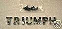 TRIUMPH LETTER BADGES (Triumph Herald & Vitesse)