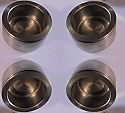 FRONT BRAKE CALIPER PISTONS x4 (Armstong Siddeley Star Sapphire & Limo) (Oct 58- 60)