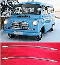 FRONT BRAKE HOSES x2 (Bedford CA Van) (** From 1961- 68 **)