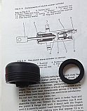 CLUTCH SLAVE CYLINDER REPAIR SEALS KIT (Hillman Minx) (1967- 70)