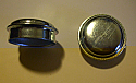 FRONT HUB GREASE CAPS x2 (Austin Healey Frogeye Sprite) (Excluding Wire Wheels) (1958- 61)