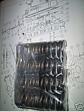 ENGINE VALVE SPRINGS x8 (MG T Type) (TB TC TD TF)  (1939- 55)
