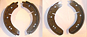 FRONT or REAR BRAKE SHOES SET (Morris Isis) (Series 1 & 2) (1955- 58) (** Check Chassis No/ **)