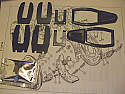 REAR WHEEL CYLINDER CLIPS & GAITERS FITTING KITS (Austin / Morris J4 Van) (1960- 74)