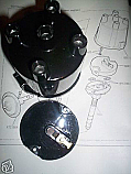 DISTRIBUTOR CAP & ROTOR ARM (Triumph Dolomite 1850cc)