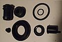 REAR BRAKE CALIPER REPAIR SEALS KIT x1 (Mazda MX5 Mk1) (1989-98)