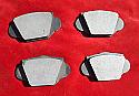 FRONT BRAKE PADS SET (MGA 1600) (Mk1 & Mk2) (1959- 62)