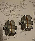 BRAKE ADJUSTERS REAR x2 (Vauxhall Victor F, FB & VX4/90) (1957- 64)